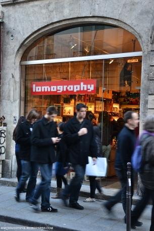 L'une des rares boutiques de photographie à l'ancienne...
