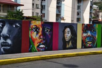 Street art in FDF