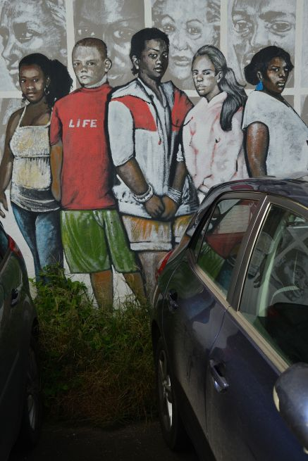 Street art from M.CARUGE& C.CAUQUIL