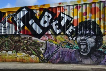 Liberté en mode street art