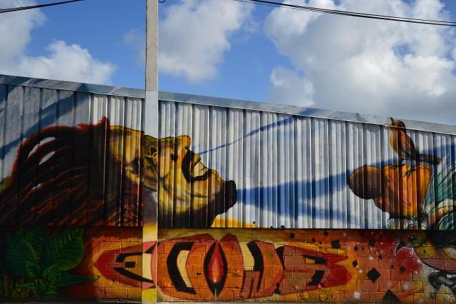 Bob MARLEY en mode street art