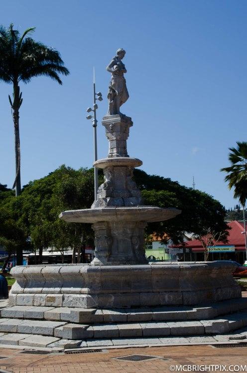 Fontaine de la place des cocotiers