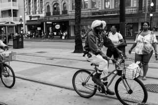 INDIAN MAN ON BIKE