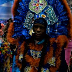 BIG CHIEF IN BLUE